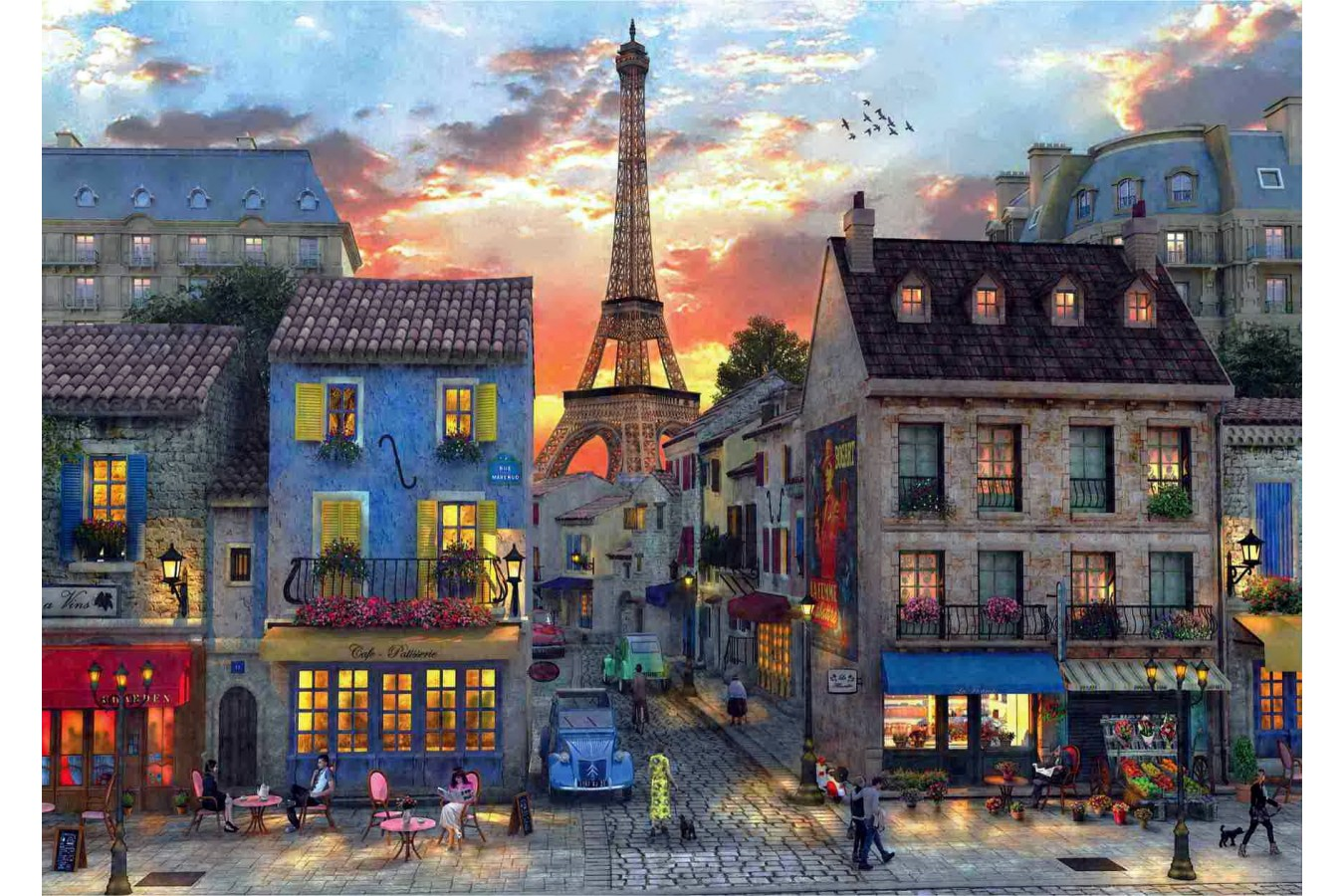 Puzzle Anatolian - Streets of Paris, 3000 piese (4910)