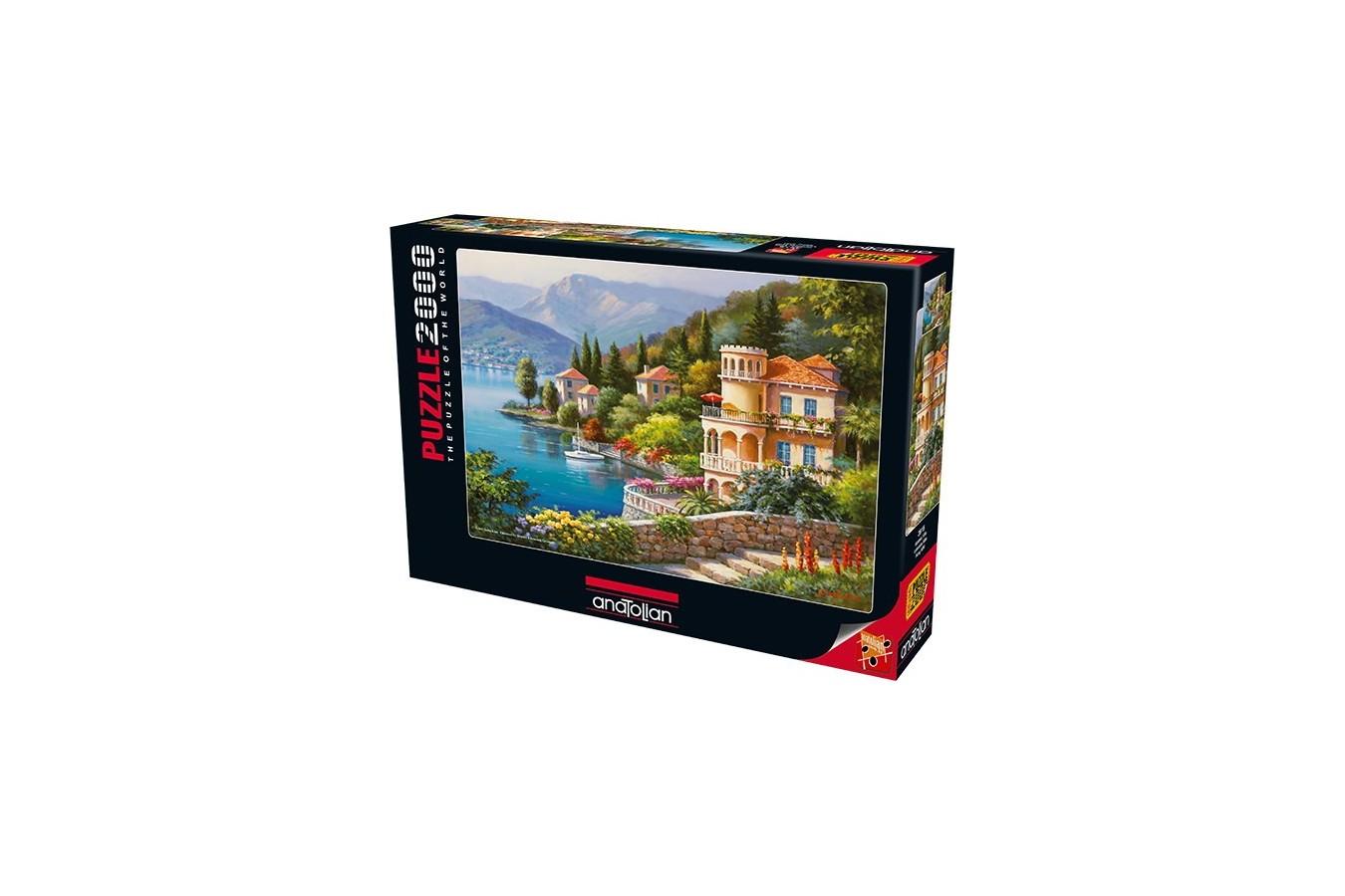 Puzzle Anatolian - Lakeside Villa, 2000 piese (3915)