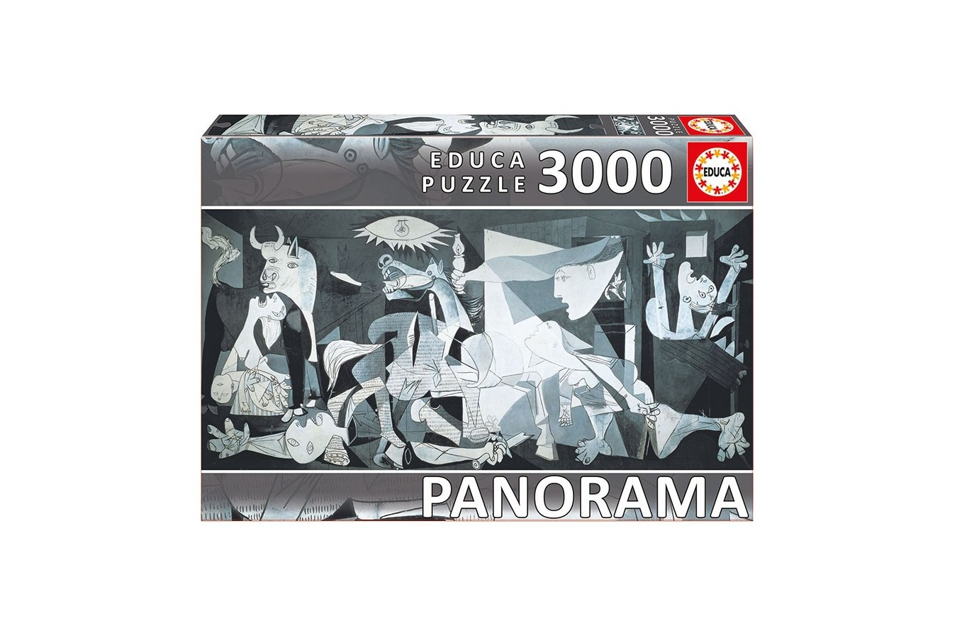 Puzzle Educa - Pablo Picasso: Guernica, 3000 piese (11502)