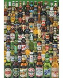 Puzzle Educa - Cans of Beer, 1000 piese, include lipici puzzle (12736)