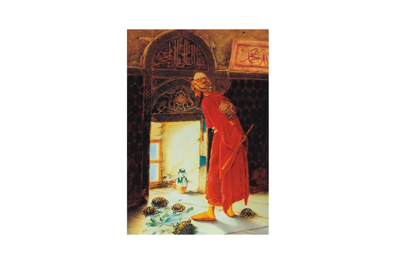 Puzzle Educa - Osman Hamdi Bey: Turtle Trainer, 1500 piese (12986)