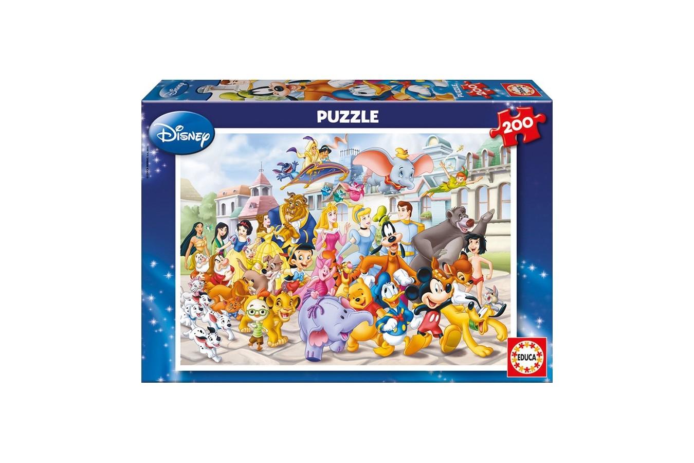 Puzzle Educa - Disney Parade, 200 piese (13289)