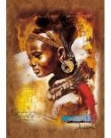 CADOU Folie - Puzzle Ravensburger - Frumusetea Africana, 1000 piese (15352)