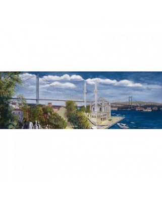 Puzzle Educa - Turkey Special Collection: Ortakoy Panorama, 1000 piese (14314)