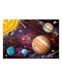 Puzzle fosforescent Educa - Solar System, 1000 piese, include lipici puzzle (14461)