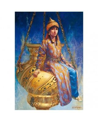 Puzzle Educa - Kamil Aslanger: Oil Lamp, 500 piese (14723)