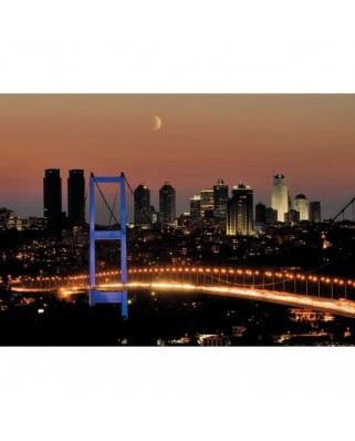 Puzzle Educa - Neon Bosphorus Bridge, 1000 piese (14755)