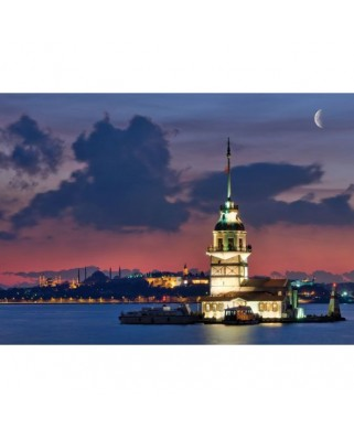 Puzzle Educa - Neon Istanbul, 1000 piese (14756)