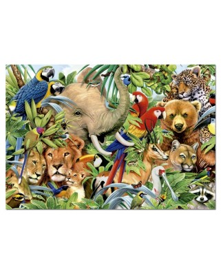 Puzzle Educa - Animal Life, 500 piese (14804)
