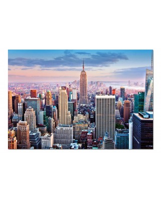 Puzzle Educa - Midtown Manhattan, New York, 1000 piese, include lipici puzzle (14811)