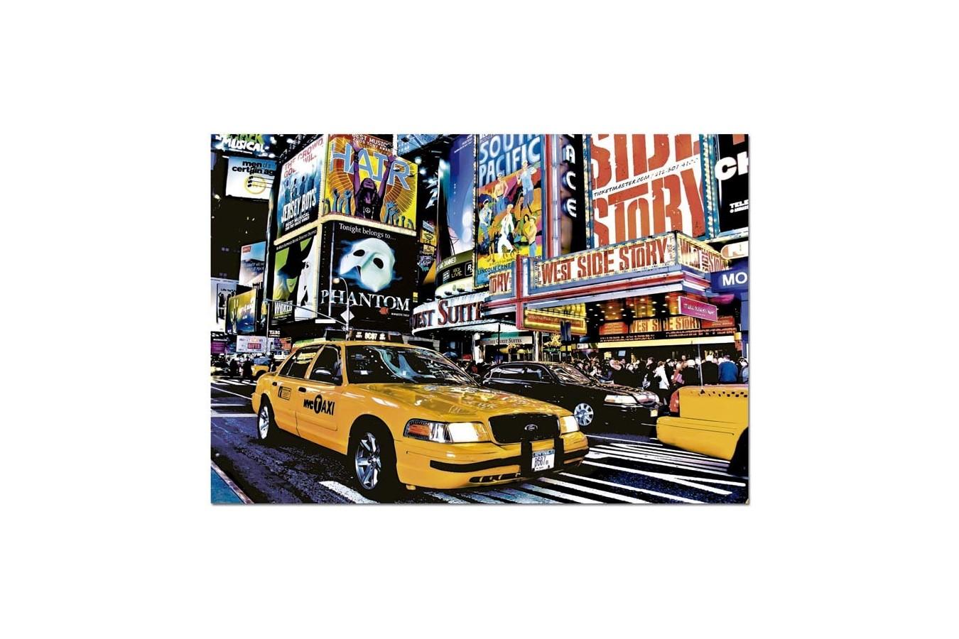 Puzzle Educa - Guillaume Gaudet: Time Square, 1500 piese (14816)