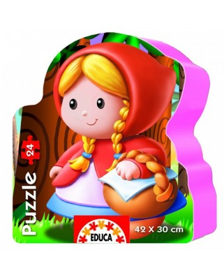 Puzzle Educa - Sweet Little Red Riding Hood, 24 piese (14962)