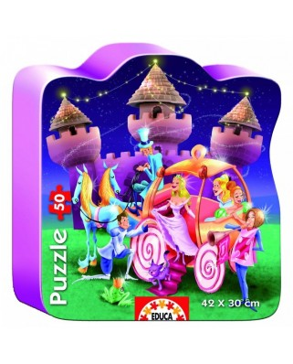 Puzzle Educa - Sweet Princess Castle, 50 piese (14963)