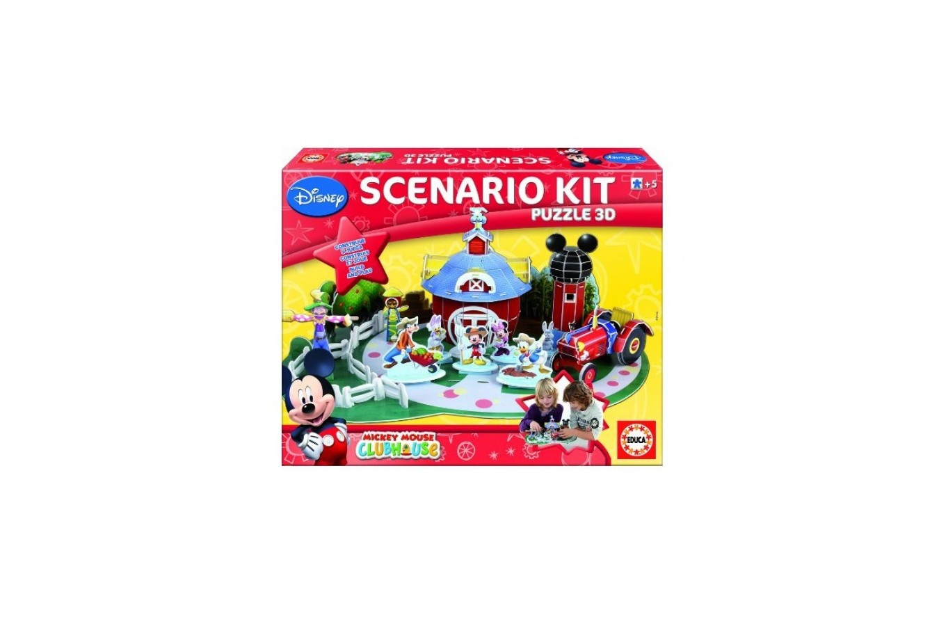 Puzzle 3D Educa - Mickey, 150 piese (15077)