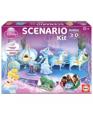 Puzzle 3D Educa - Scenario - Cendrillon, 50 piese (15121)
