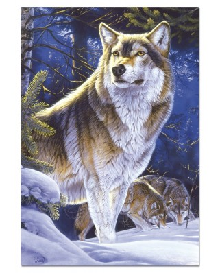 Puzzle Educa - Wolf Lying in Wait, 500 piese (15151)