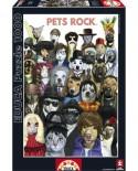 Puzzle Educa - Pets Rock, 1000 piese (15155)