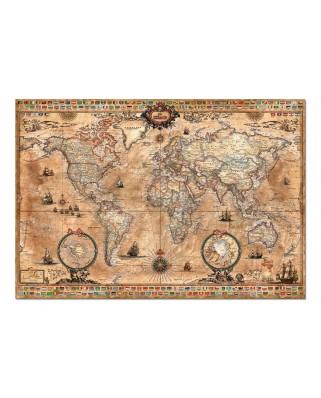 Puzzle Educa - Map of the World, 1000 piese (15159)