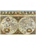 Puzzle Ravensburger - Harta Lumii In 1665, 3000 piese (17054)