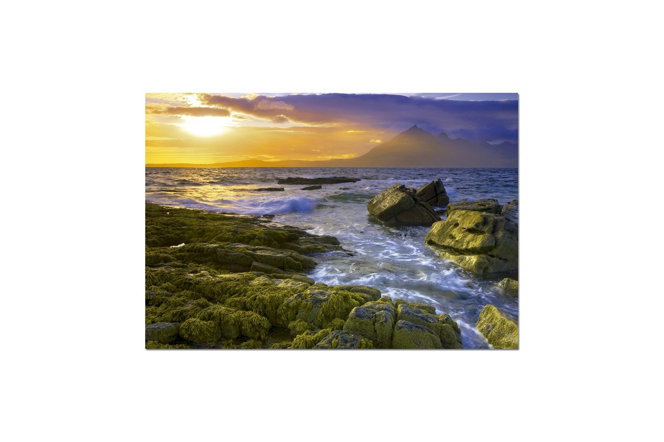 Puzzle Educa - Dominic Davison: Sundown on Rocks, 1500 piese (15163)
