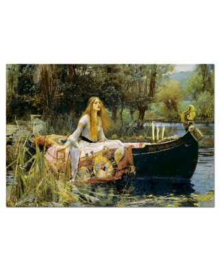 Puzzle Educa - John William Waterhouse: The Lady of Shalott, 1500 piese (15164)
