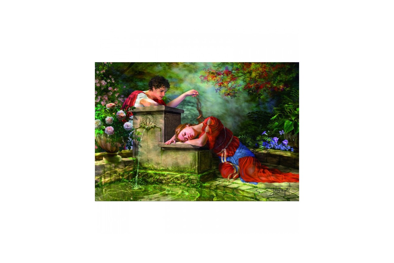 Puzzle Educa - While She was Sleeping, 8000 piese (15168)