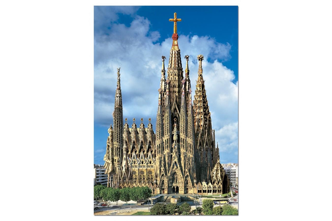 Puzzle Educa - Sagrada Familia, Barcelona, 1000 piese (15177)