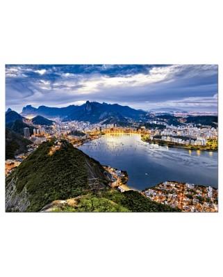 Puzzle Educa - Rio de Janeiro, Brasil, 2000 piese (15178)