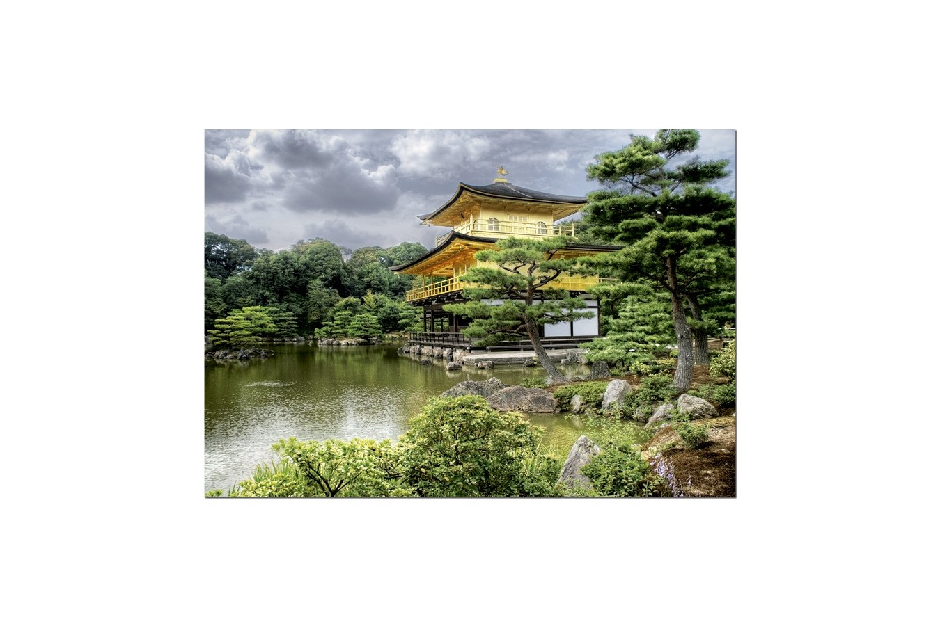Puzzle Educa - The Golden Temple, Kyoto, 2000 piese (15182)