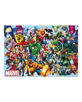 Puzzle Educa - Marvel: Marvel Heroes, 1000 piese, include lipici puzzle (15193)