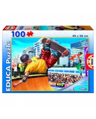 Puzzle Educa - Skateboard, 100 piese (15267)