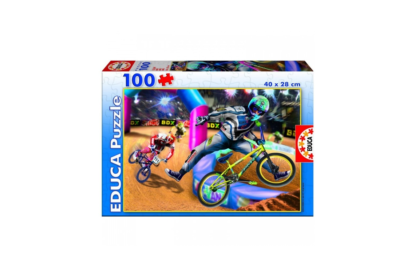 Puzzle Educa - BMX, 100 piese (15269)
