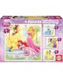 Puzzle Educa - Disney Princesses, 12/16/20/25 piese (15289)