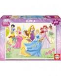 Puzzle Educa - Disney Princesses, 200 piese (15297)