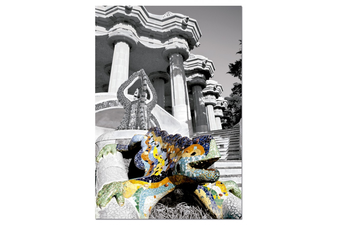 Puzzle Educa - Parc Guell, Barcelona, 500 piese (15319)