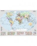 Puzzle Ravensburger - Harta Politica A Lumii, 1.000 piese (15652)