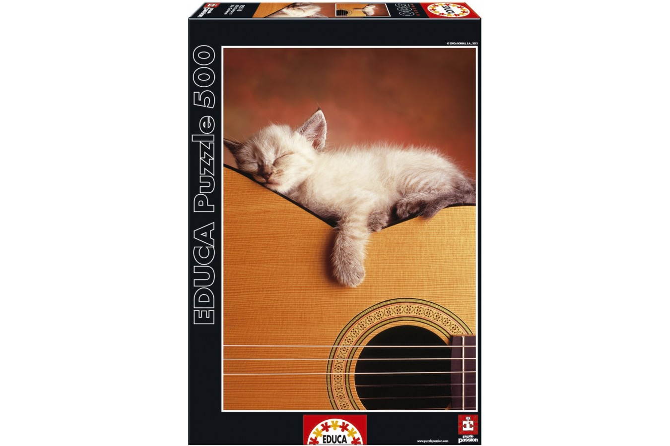 Puzzle Educa - My Guitar, 500 piese (15510)