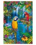 Puzzle Educa - Tropical Paradise, 500 piese, include lipici puzzle (15512)