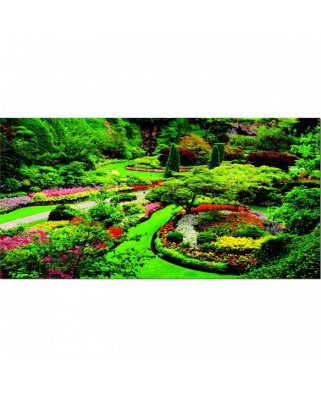 Puzzle Educa - Butchart Gardens, Canada, 1000 piese (15523)