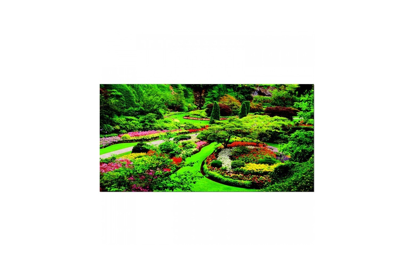Puzzle Educa - Butchart Gardens, Canada, 1000 piese (15523)