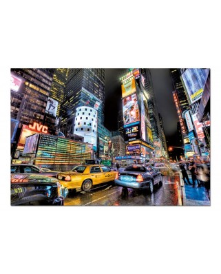 Puzzle Educa - Times Square, New York, 1000 piese, include lipici puzzle (15525)