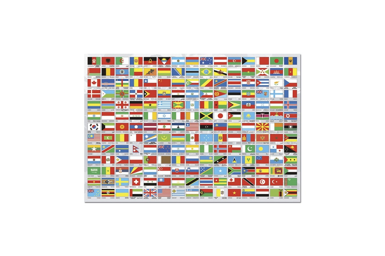 Puzzle Educa - Flags of the World, 1500 piese (15530)