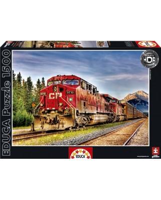 Puzzle Educa - Next Stop Banff, Canada, 1500 piese (15546)