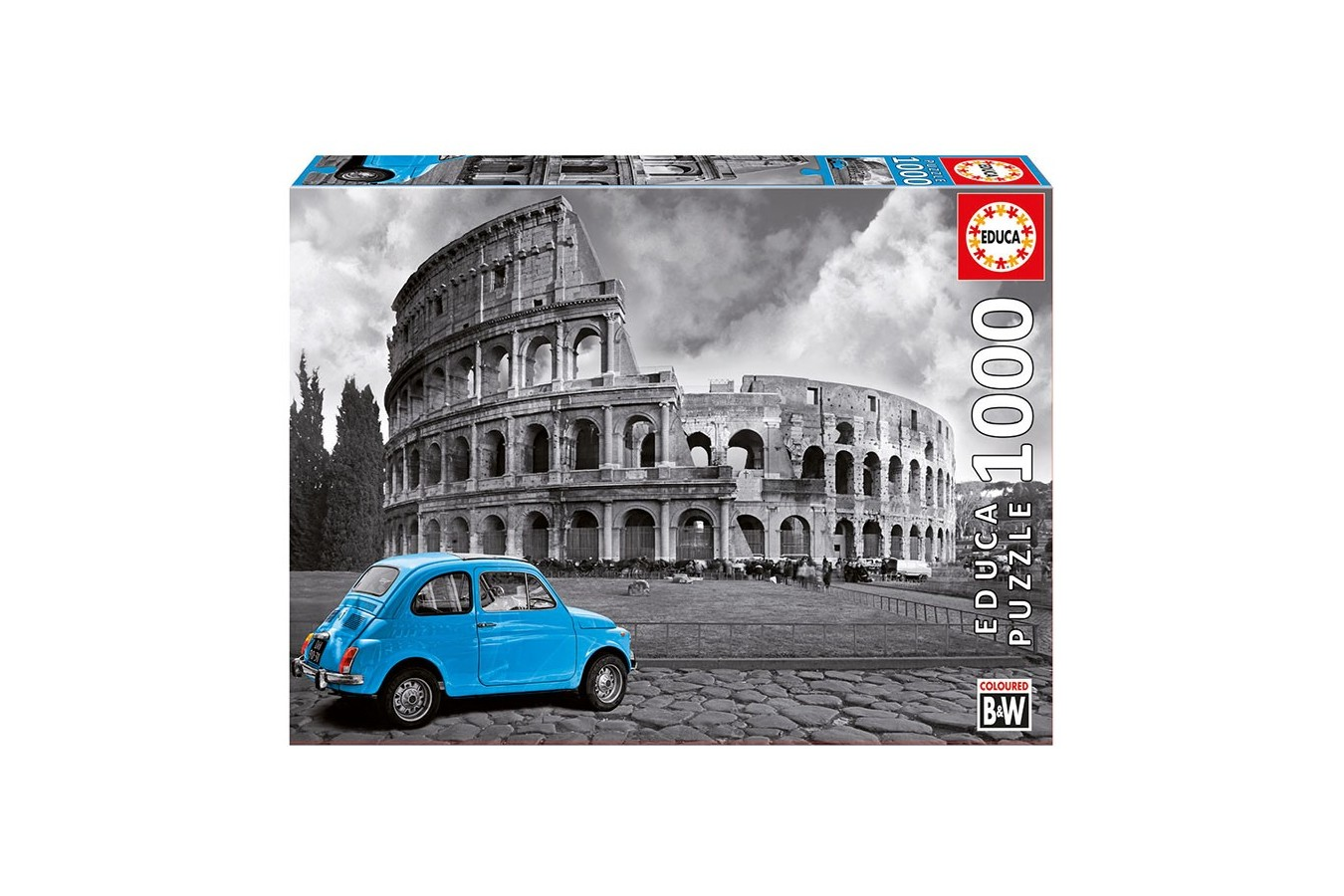 Puzzle Educa - Colosseum, Rome, 1000 piese, include lipici puzzle (15548)