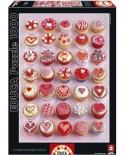 Puzzle Educa - Cupcakes, 1000 piese (15550)