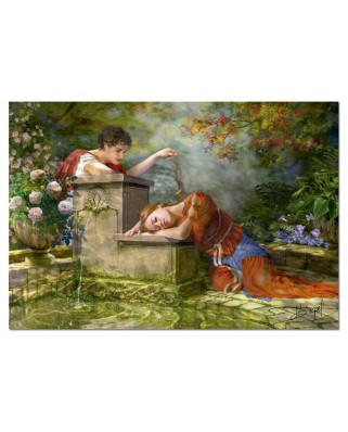 Puzzle Educa - While She was Sleeping, 1500 piese (15580)