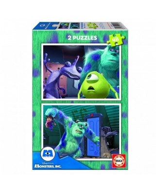 Puzzle Educa - Monsters Inc, 2x48 piese (15606)