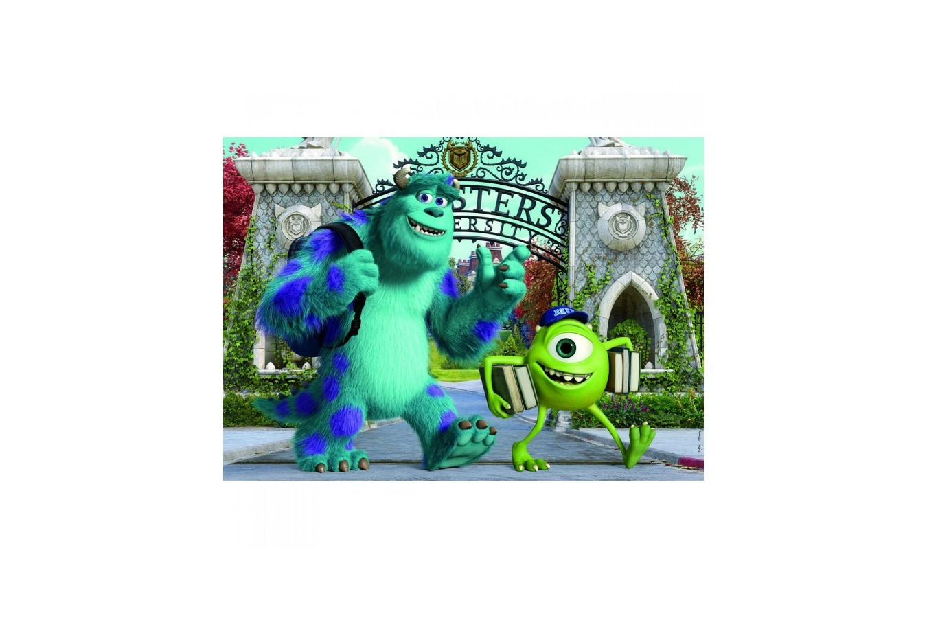 Puzzle din lemn Educa - Monsters Inc: Monsters University, 2x25 piese (15607)
