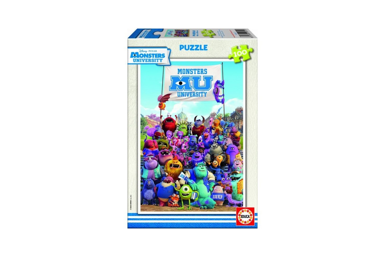 Puzzle Educa - Monsters Inc: Monsters University, 100 piese (15611)