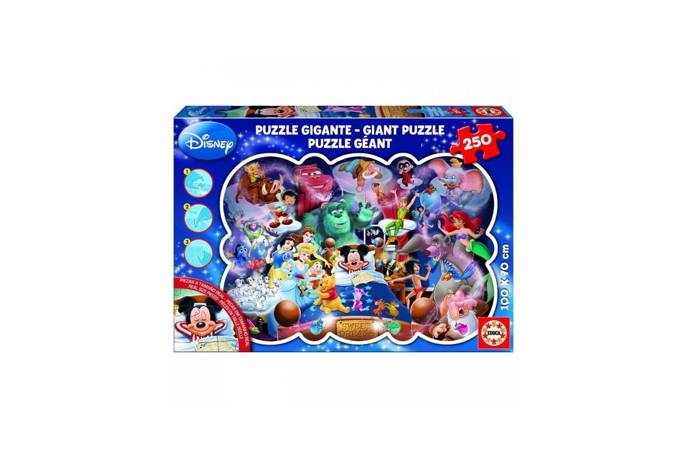 Puzzle Educa - Giant: Mickey's Dream, 250 piese (15617)